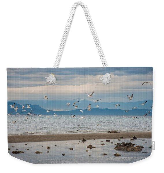 Herring Season  Weekender Tote Bag