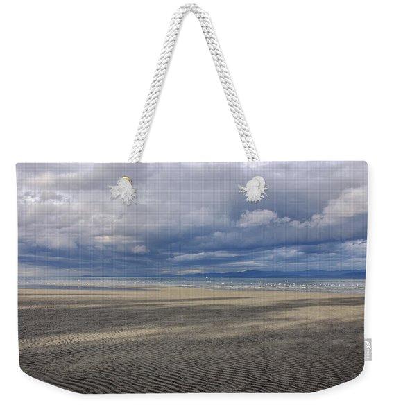 Low Tide Sandscape Weekender Tote Bag