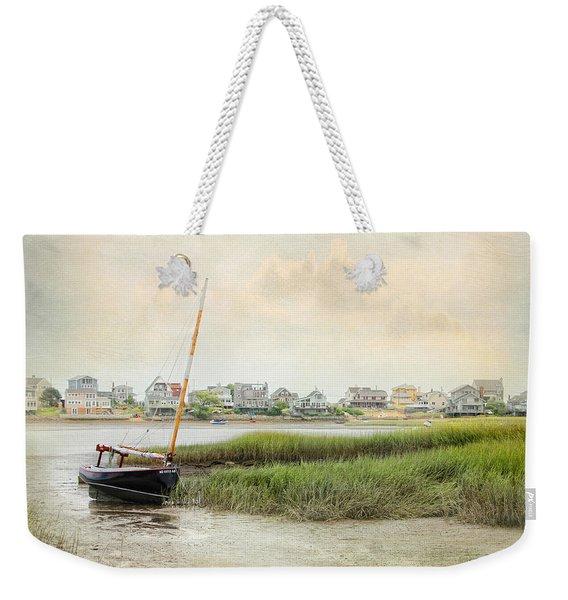 Low Tide On The Basin Weekender Tote Bag