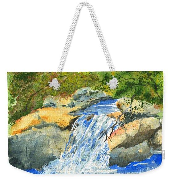 Lower Burch Creek Weekender Tote Bag