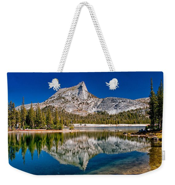 Lower Cathedral Lake Weekender Tote Bag