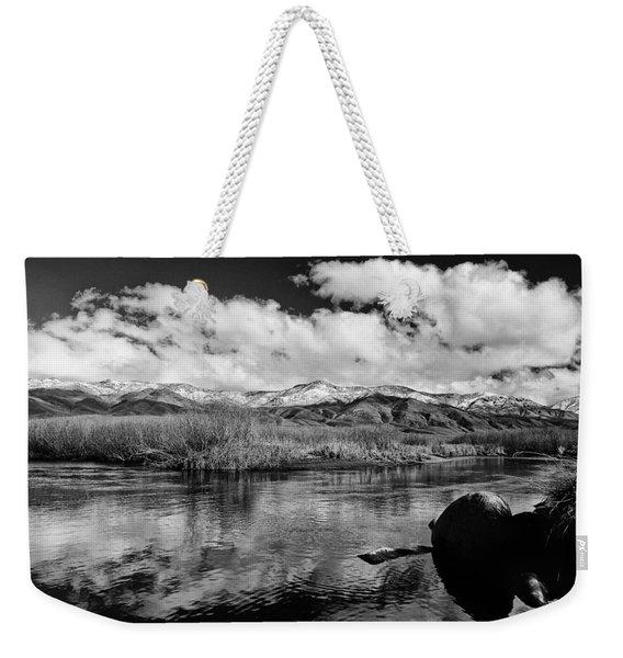 Lower Owens River Weekender Tote Bag