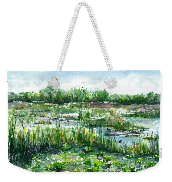 Loxahatchee Marsh Weekender Tote Bag