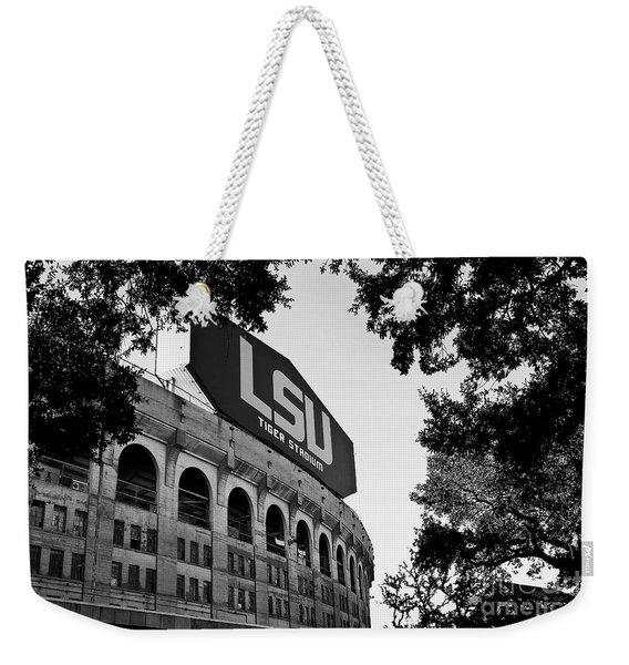 Lsu Through The Oaks Weekender Tote Bag