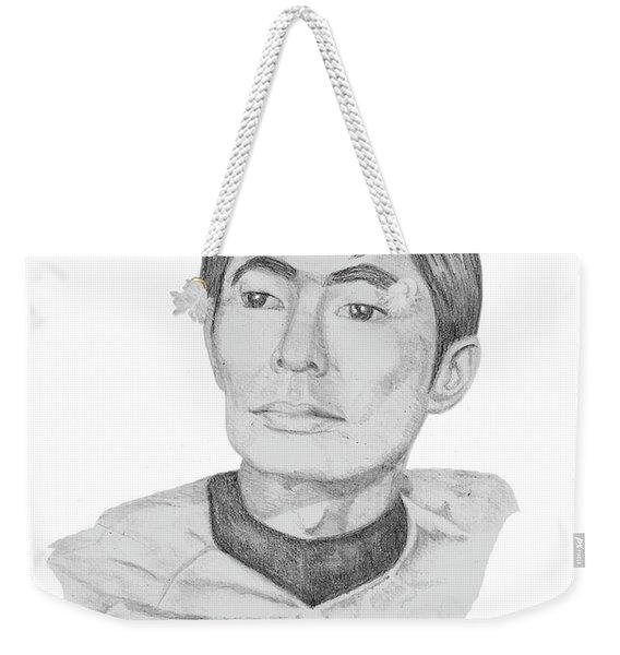 Lt. Sulu Weekender Tote Bag