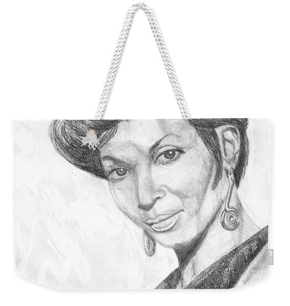 Lt. Uhura Weekender Tote Bag