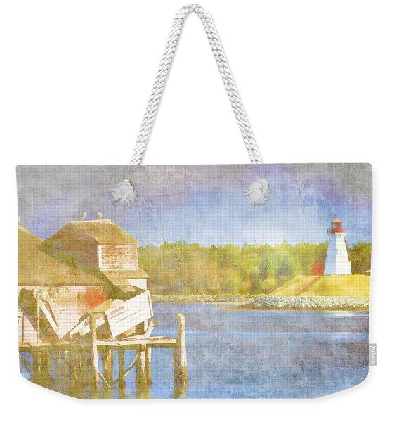 Lubec Maine To Campobello Island Weekender Tote Bag