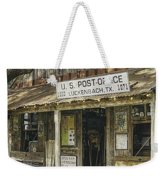Luckenbach Weekender Tote Bag