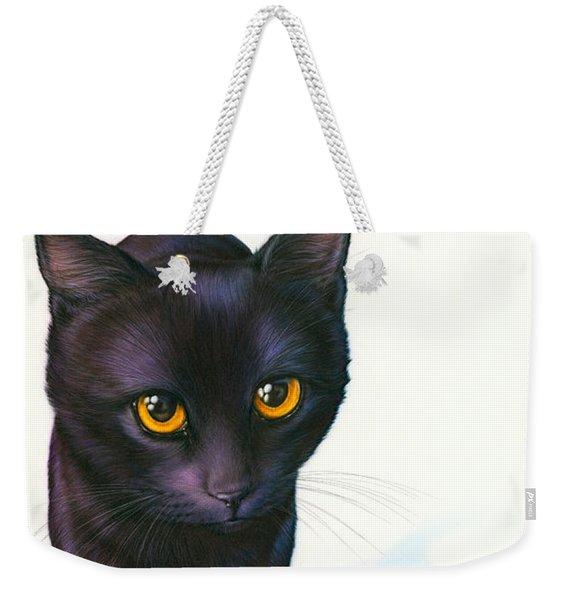 Lucky Cat Weekender Tote Bag