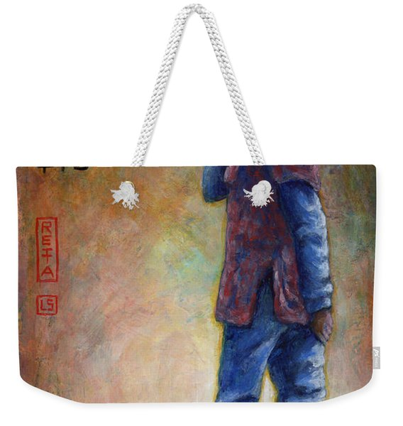 Lucky Red Boots Weekender Tote Bag