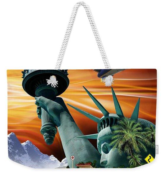 Lucky Star Weekender Tote Bag