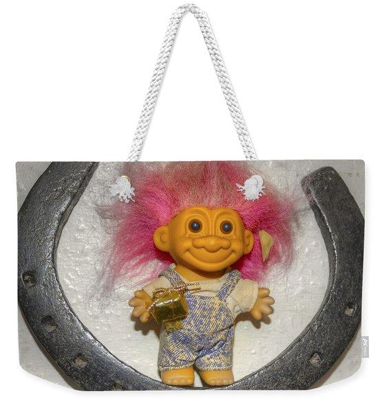 Lucky Troll Weekender Tote Bag