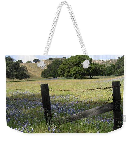 Lupines And Oaks Weekender Tote Bag