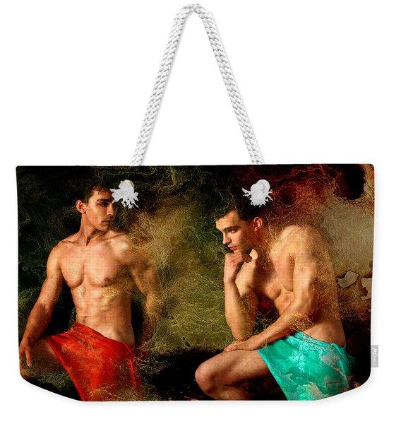 Luxury Weekender Tote Bag