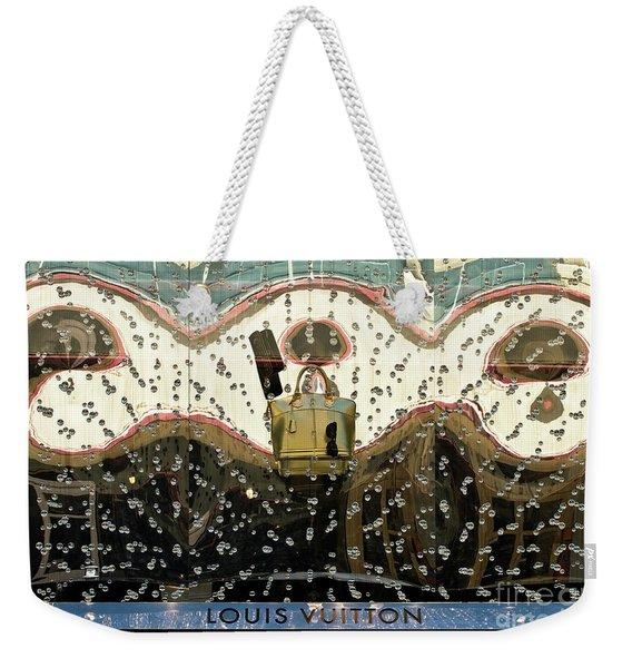Lv Gold Bag 01 Weekender Tote Bag