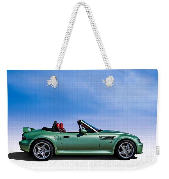 M Topless Weekender Tote Bag