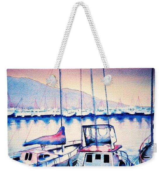 Maalaea Harbor Weekender Tote Bag
