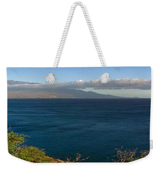 Maalea Bay Overlook   Weekender Tote Bag