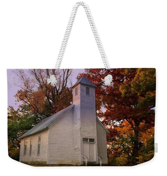 Macedonia Missionary Baptist Church Weekender Tote Bag