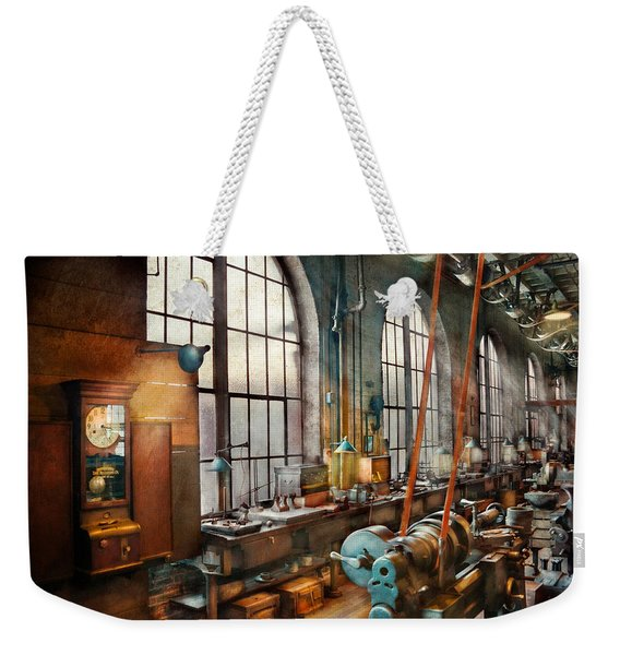 Machinist - Back In The Days Of Yesterday Weekender Tote Bag