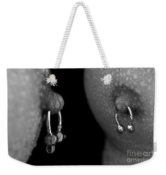 Macro Nipples Weekender Tote Bag
