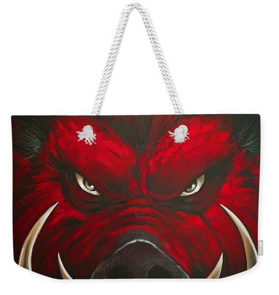 Mad Hog Weekender Tote Bag