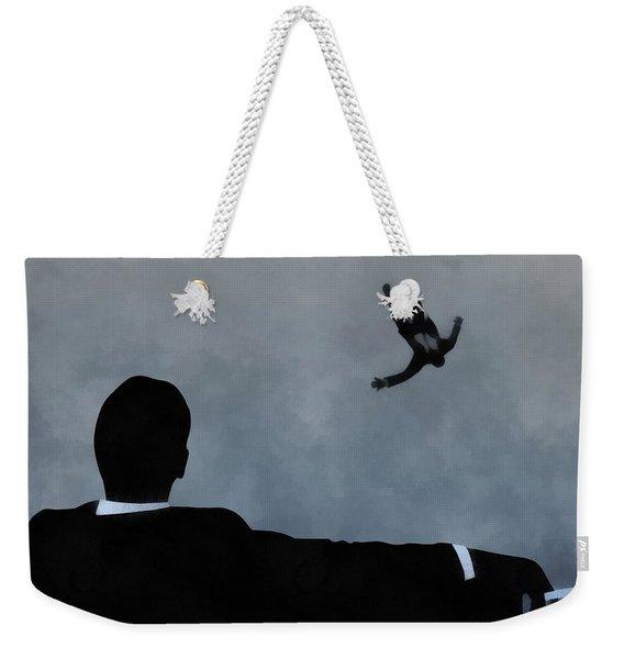 Mad Men Art Weekender Tote Bag