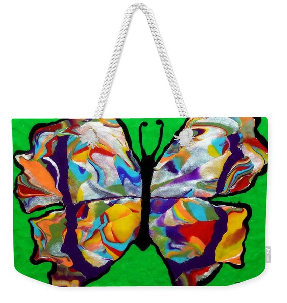 Madam Butterfly Weekender Tote Bag