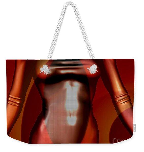 0 -mademoiselle Contenu Chocolate  Weekender Tote Bag