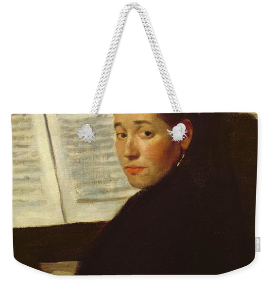 Mademoiselle Marie Dihau At The Piano Weekender Tote Bag
