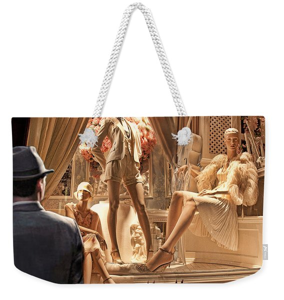 Madison Ave Meets Rodeo Drive Weekender Tote Bag