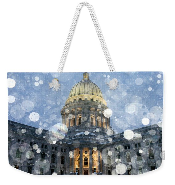 Madisonian Winter Weekender Tote Bag
