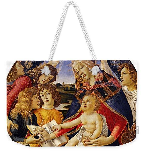 Madonna Of The Magnificat Weekender Tote Bag