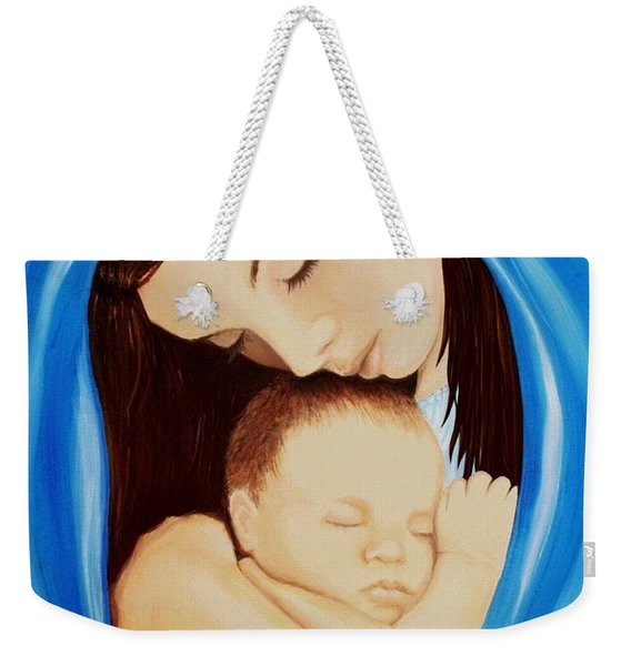 Madonna Of The Sea Weekender Tote Bag