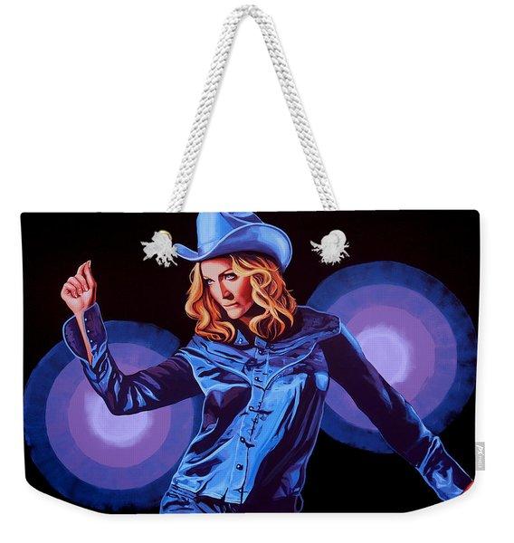 Madonna Painting Weekender Tote Bag