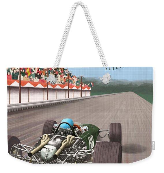 Madrid Grand Prix 1968 Weekender Tote Bag