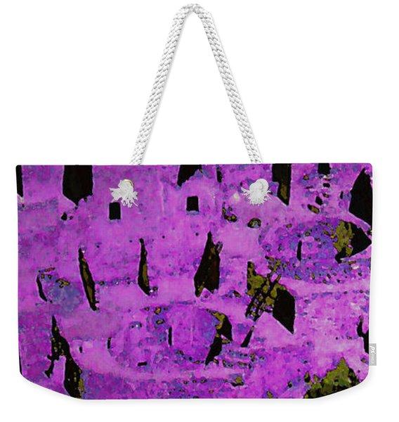 Magenta Dwelling Weekender Tote Bag