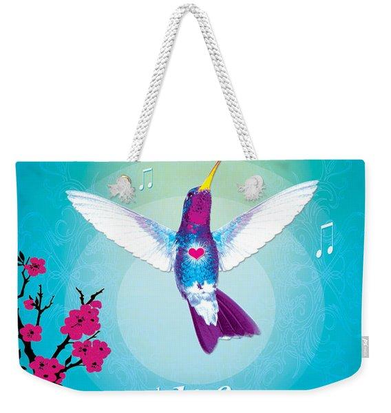 Magic Heart Weekender Tote Bag