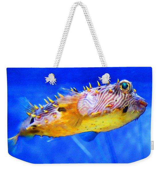 Magic Puffer - Fish Art By Sharon Cummings Weekender Tote Bag