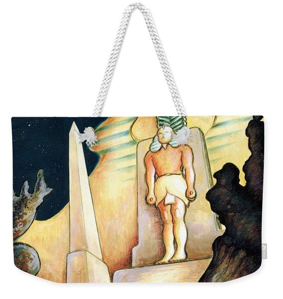 Magic Vegas Sphinx - Fantasy Art Painting Weekender Tote Bag