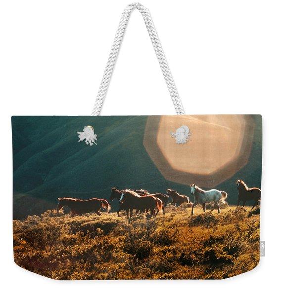 Magical Herd Weekender Tote Bag