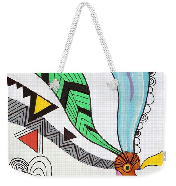 Magical Mind Weekender Tote Bag