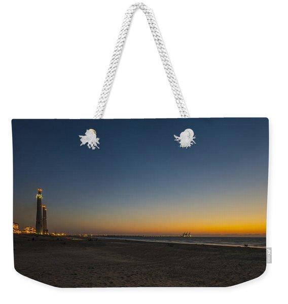 magical sunset moments at Caesarea  Weekender Tote Bag