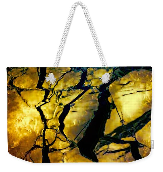 Magical Yellow 2 Weekender Tote Bag