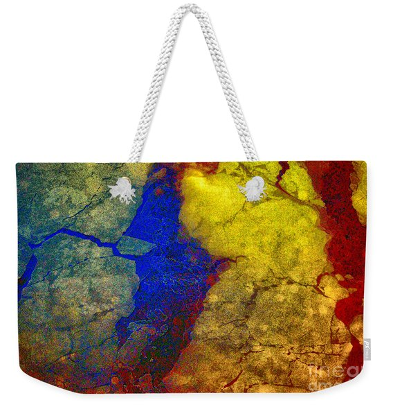 Magical Yellow 3 Weekender Tote Bag
