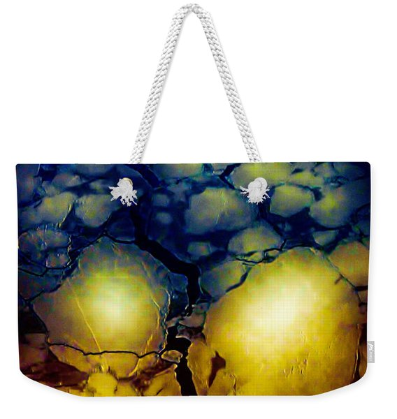 Magical Yellow 5 Weekender Tote Bag