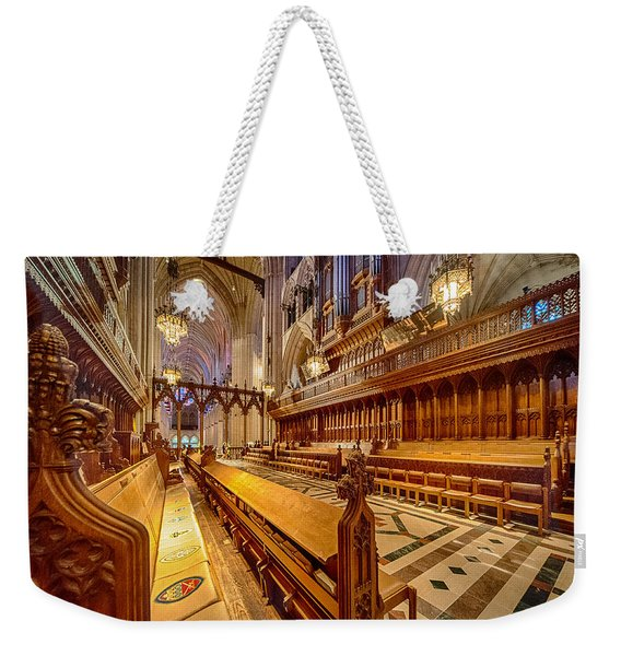 Magnificent Cathedral I Weekender Tote Bag