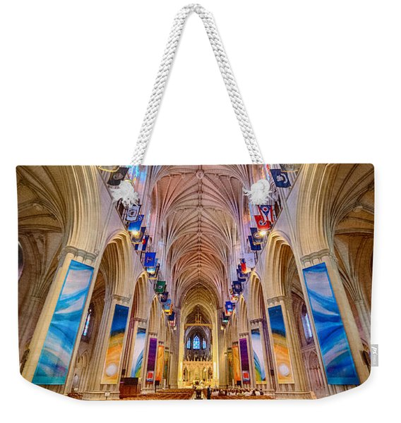 Magnificent Cathedral II Weekender Tote Bag