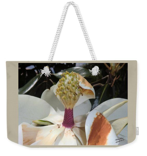 Magnolia Magnicence  Weekender Tote Bag