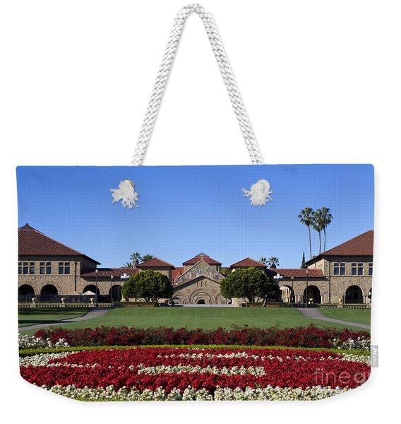 Main Quad Stanford California Weekender Tote Bag